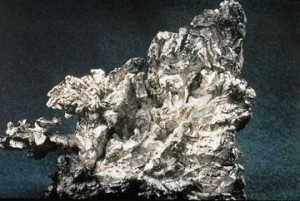 Silver is rare but has many uses, image by Halfdan for Wikimedia
